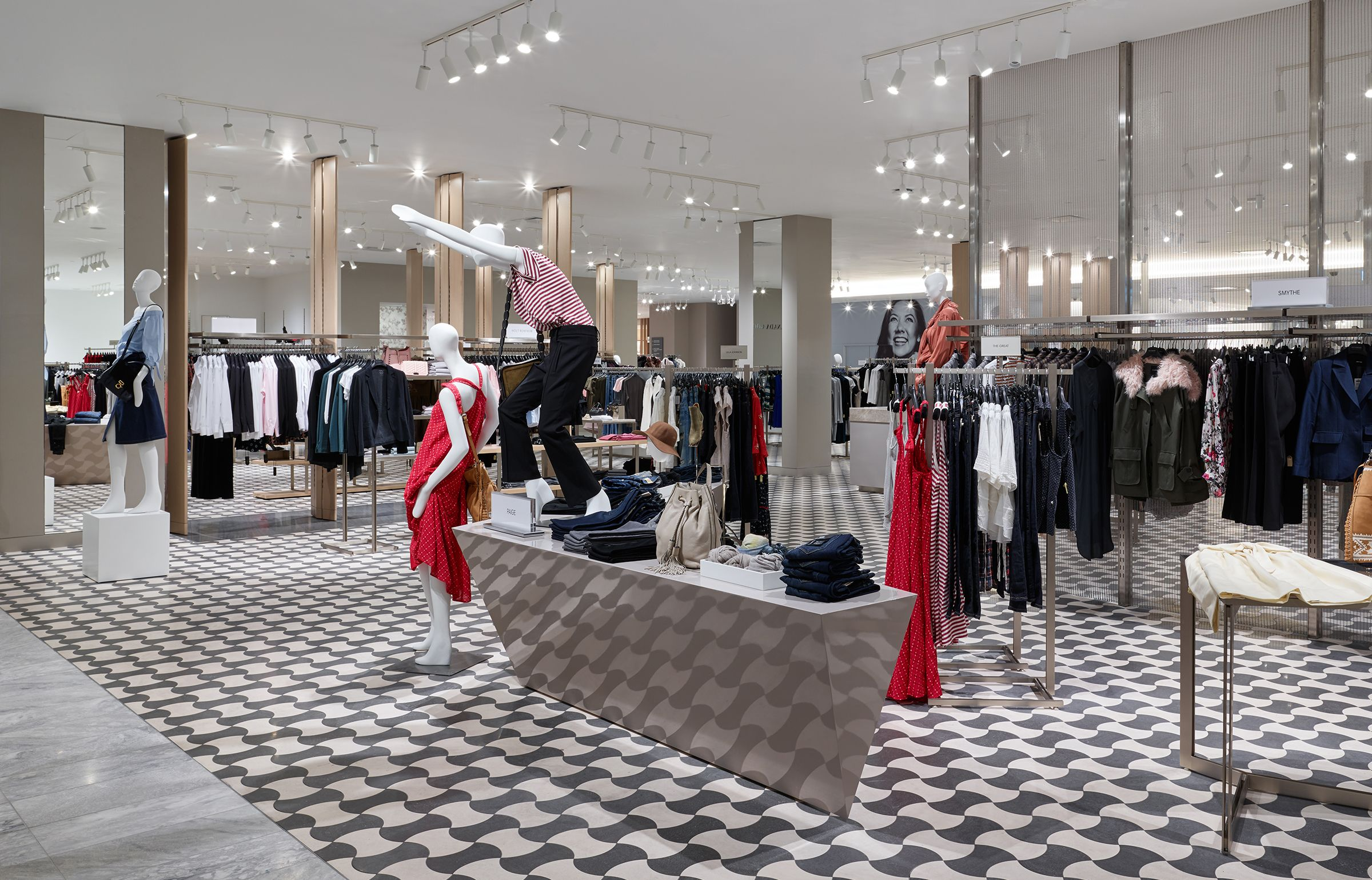 janson scuro | holt renfrew square one